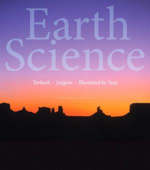 Book cover Earth Science