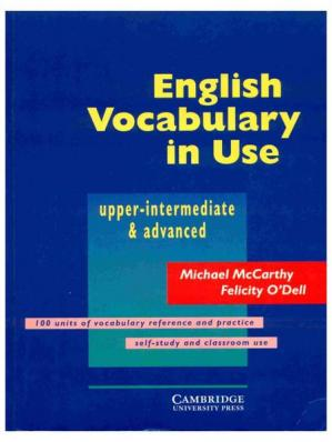书籍封面 English Vocabulary in Use: Upper Intermediate & Advanced