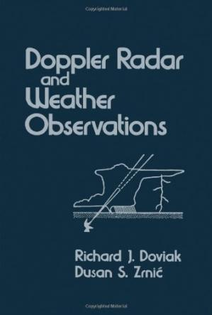 Book cover Doppler Radar and Weather Observations