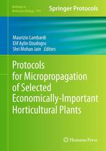 A capa do livro Protocols for Micropropagation of Selected Economically-Important Horticultural Plants