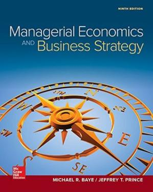 Book cover Managerial Economics & Business Strategy