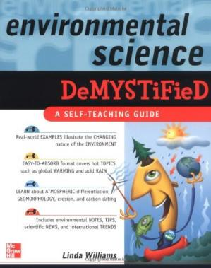 Book cover Environmental Science Demystified