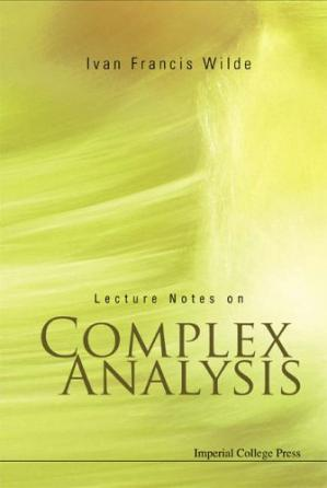 Book cover Lecture notes on complex analysis