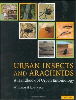 Book cover Urban Insects and Arachnids: A Handbook of Urban Entomology