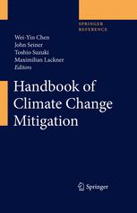 غلاف الكتاب Handbook of Climate Change Mitigation
