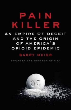 A capa do livro Pain Killer: An Empire of Deceit and the Origin of America's Opioid Epidemic