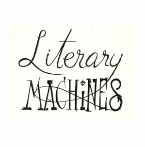 Book cover Literary Machines
