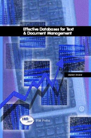 Copertina Effective Databases for Text & Document Management
