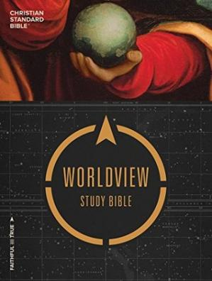Book cover CSB Worldview Study Bible