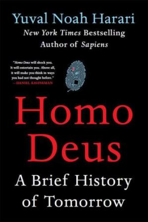 Copertina Homo Deus: A Brief History of Tomorrow