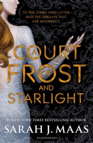 Обкладинка книги A Court of Frost and Starlight A Court of Thorns and Roses