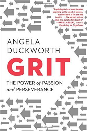 पुस्तक कवर Grit: The Power of Passion and Perseverance