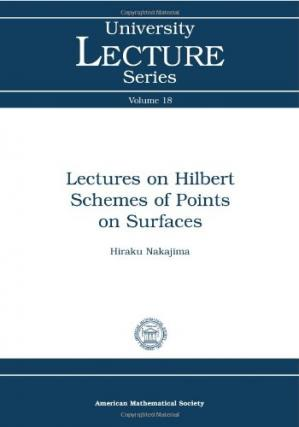 د کتاب پوښ Lectures on Hilbert schemes of points on surfaces
