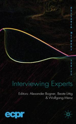 Book cover Interviewing Experts (Research Methods)