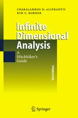 Book cover Infinite Dimensional Analysis: A Hitchhiker's Guide
