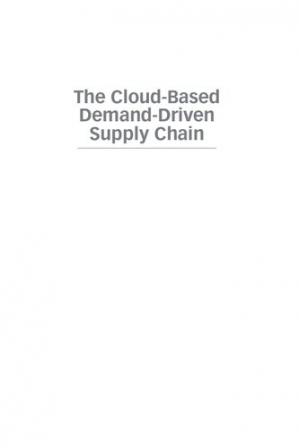 Book cover The cloud-based demand-driven supply chain