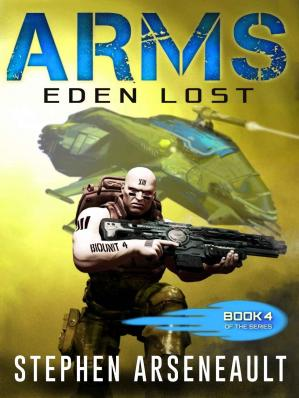 Book cover ARMS Eden Lost: (Book 4)