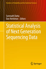 A capa do livro Statistical Analysis of Next Generation Sequencing Data