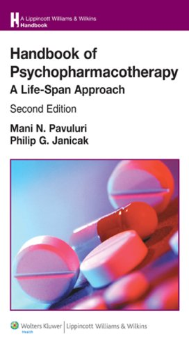 Book cover Handbook of Psychopharmacotherapy: A Life-Span Approach