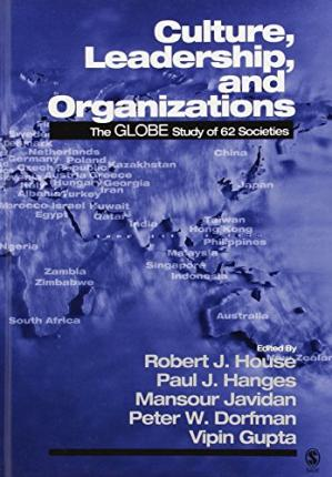 Εξώφυλλο βιβλίου Culture, leadership, and organizations: the GLOBE study of 62 societies