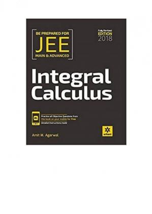 Book cover Amit M Agarwal Integral Calculus IIT JEE Main Advanced Fully Revised Edition for IITJEE Arihant Meerut