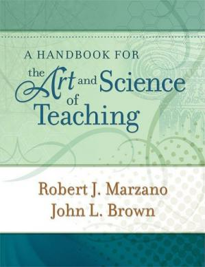 A capa do livro A Handbook for the Art and Science of Teaching