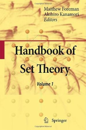 غلاف الكتاب Handbook of Set Theory