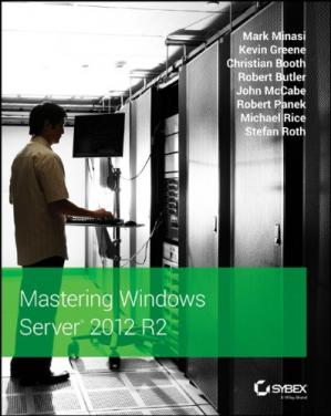 Book cover Mastering Windows Server 2012 R2