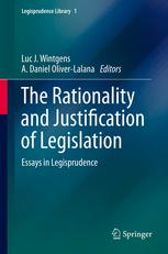 书籍封面 The Rationality and Justification of Legislation: Essays in Legisprudence