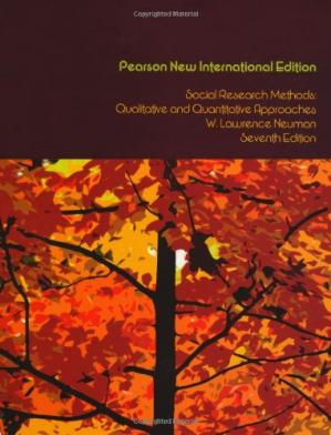 Book cover Social Research Methods: Qualitative and Quantitative Approaches