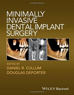 书籍封面 Minimally invasive dental implant surgery
