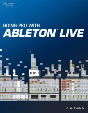 Book cover Going pro with Ableton Live