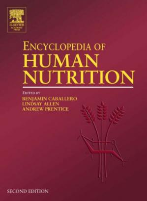 غلاف الكتاب Encyclopedia of Human Nutrition