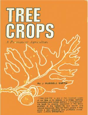 "Εξώφυλλο βιβλίου Tree crops: A permanent agriculture (A ""Friends of the land"" book)"