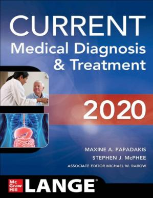 Book cover CURRENT Medical Diagnosis & Treatment 2020