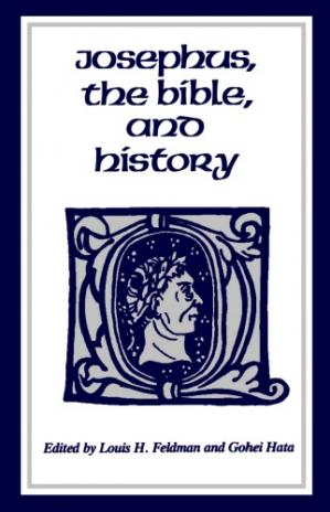Copertina Josephus, the Bible, and History