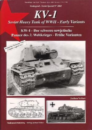 Book cover Tankograd Soviet Special No. 2002: KV-1 Soviet Heavy Tanks of WWII - Early..