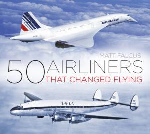 Book cover 50 Airliners that Changed Flying