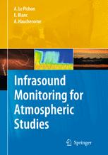 Portada del libro Infrasound Monitoring for Atmospheric Studies