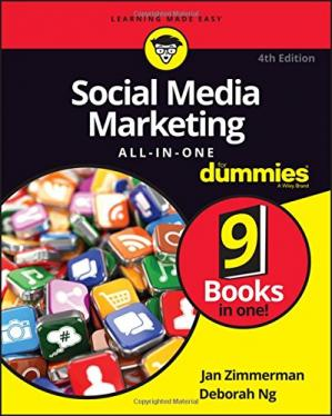 Обложка книги Social Media Marketing All-in-One For Dummies