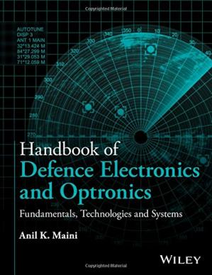 A capa do livro Handbook of Defence Electronics and Optronics: Fundamentals, Technologies and Systems