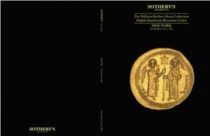 Book cover The William Herbert Hunt Collection Highly Important Byzantine Coins / Особо значимая коллекция монет Вильяма Герберта Ханта