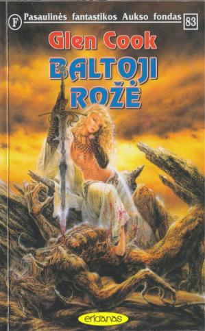 Book cover Baltoji roze