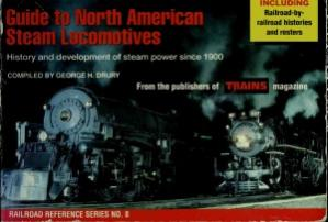 Book cover Guide to North American Steam Locomotives