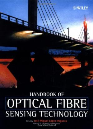 غلاف الكتاب Handbook of optical sensors