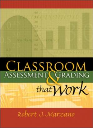 A capa do livro Classroom Assessment & Grading That Work