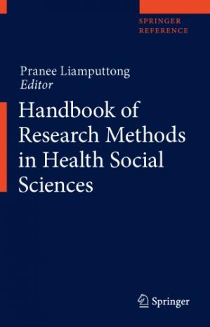 Sampul buku Handbook of Research Methods in Health Social Sciences