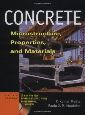 Book cover Concrete: Microstructure, Properties, and Materials