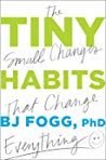 Book cover Tiny Habits: The Small Changes That Change Everything