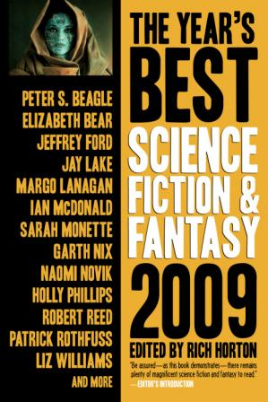 Book cover The Year's Best Science Fiction & Fantasy 2009